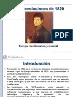 Revoluciones 1820