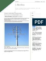 Komponen Utama Saluran Transmisi Udara