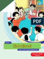 Kelas 06 SD Tematik 4 Globalisasi Guru
