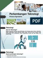 Perkembangan Teknologi(2)