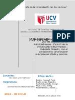 El Presente Informe