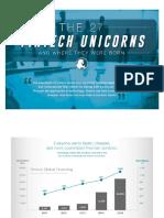 27 Fintech Unicorns