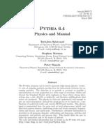 Pythia 6.4 Manual