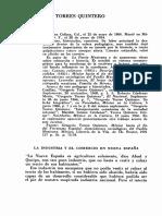 La Industria y El Comercio en Nueva España