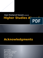 Higher Studies Abroad