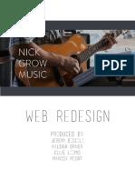 el 211 web redesign proposal