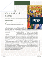 What is the Communion of Saints