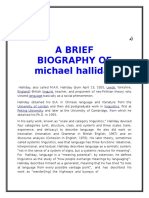Michael Halliday