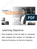 Chapter 1 - Introduction to Service Economy and Services
