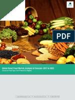 Global Smart Food Market Analysis & Forecast 2017-2022