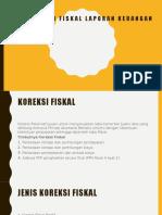 Rekonsiliasi Fiskal Laporan Keuangan