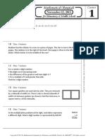 M O E M S Practice Packet 2013-2014 pdf | Fraction (Mathematics