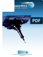 Delcam - PowerMILL 9.0 FiveAxis Training Course en - 2008