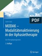 Dr. Luise Lutz (Auth.)-MODAK – Modalitätenaktivierung in Der Aphasietherapie_ Ein Therapieprogramm-Springer-Verlag Berlin Heidelberg (2016)