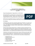 Cypress-Compressed Dry Air Energy Savings