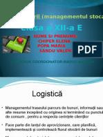 Logistica Stocarii(Chiper,Popa,Sandu)