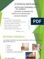 7.- PISOS CERAMICOS
