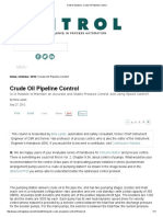 Control Systems_ Crude Oil Pipeline Control
