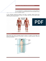 Week-2 Anatomical Position Body Planes and Directional Terms for Students