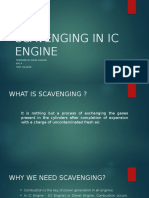 Scavenging in Ic Engine