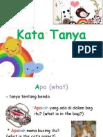Kata Tanya Year 2