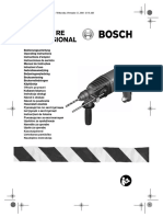 Bosch GBH 2-23RE Manual