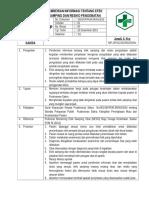 7.4.3.5 SOP Pemberian Infformasi Tentang Efek Samping an Resiko Pengobatan