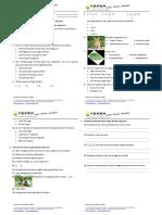 Soal Evaluasi Uts Kelas 4 Tema 3 Semester 1 Th 2014 20151