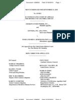 FDA Reply Brief Ct. App. July 22, 2010