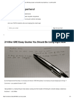 21 Killer GRE Essay Quotes You Should Be Using Right Now - CrunchPrep GRE