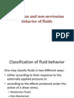 Newtonian NonNewtonian Fluid-Viscosity