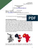 Keskin - Sociology of Africa Winter 2013
