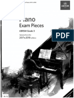 ABRSM 2017-18 Piano Pieces Gr3
