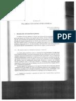 """""""Palabras con estructura interna"""" en Panorama de la lexicología"""