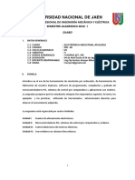 Silabo Electronica Industrial Aplicada 2015 II