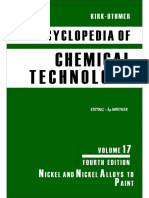 Encyclopedia of Chemical Technology [Vol 17]