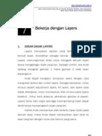 Praktikum Adobe Photoshop Bab7 - Layers