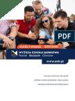 Informator 2017 - Studia I Stopnia - Wyższa Szkoła Bankowa w Szczecinie