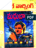 Madhubabu - Final Warning