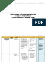 PEMETAAN  DSP DAN HSP SAINS TINGKATAN 3 2015.pdf