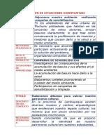 Ejemplos de Situaciones Significativas-taller de Quilmaná