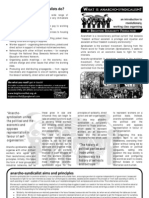 What is Anarcho Syndicalism - Brighton Leaflet