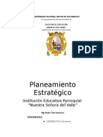 Monografía de Planeamiento Estartégico