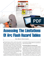 Arc Flash Hazard Tables