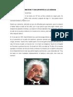 Albert Einstein y Sus Aportes a La Ciencia