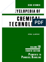 Encyclopedia of Chemical Technology [Vol 19]