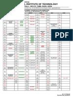 Academic Calendar(Even Semester) Final UG
