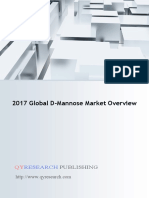 2017 Global D-Mannose Market Overview