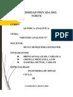 Proceso Analitico