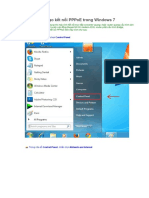 Hướng Dẫn Tạo Kết Nối PPPoE Trong Windows 7
